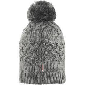 Buff Savva Knitted & Polar Fleece Hat Grey Castlerock